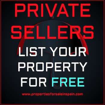 Advertise your Spanish property for free